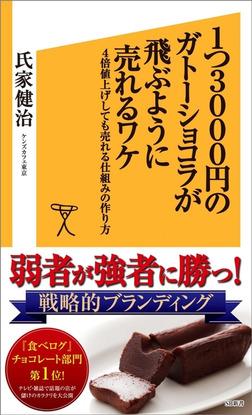 1つ3000円のガトーショコラが飛ぶように売れるワケ 4倍値上げしても売れる仕組みの作り方-電子書籍
