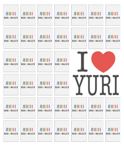 "[FREE] ""I Love Yuri"" (limited-time): Bookshelf Skin-電子書籍"
