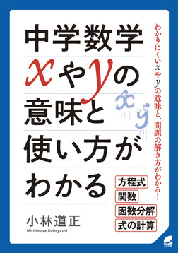 中学数学xやyの意味と使い方がわかる-電子書籍