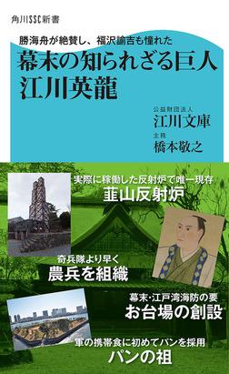 勝海舟が絶賛し、福沢諭吉も憧れた 幕末の知られざる巨人 江川英龍-電子書籍