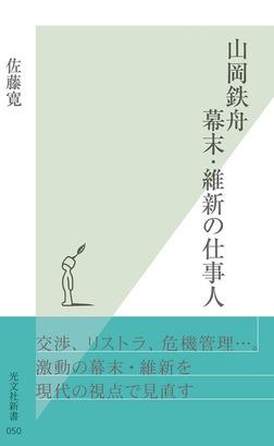 山岡鉄舟 幕末・維新の仕事人-電子書籍