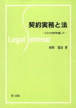 契約実務と法-リスク分析を通して--電子書籍