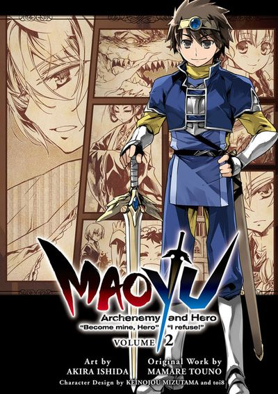 "MAOYU : Archenemy and Hero ""Become mine, Hero"" ""I refuse!"" 2"