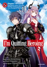 I'm Quitting Heroing Chapter 10: The Demon Queen Summons the Four Great Guardians to an Emergency Meeting