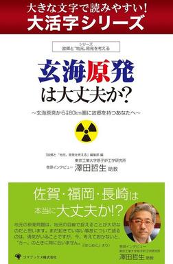 【大活字シリーズ】玄海原発は大丈夫か?-電子書籍