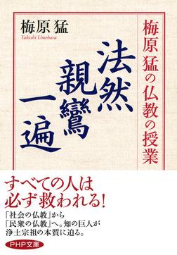 梅原猛の仏教の授業 法然・親鸞・一遍-電子書籍