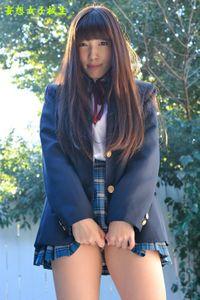 妄想女子校生『こすりすぎ♪』58