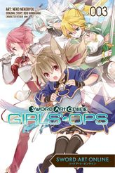 Sword Art Online: Girls' Ops, Vol. 3