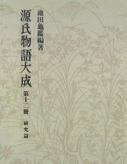 源氏物語大成〈第12冊〉 研究篇-電子書籍