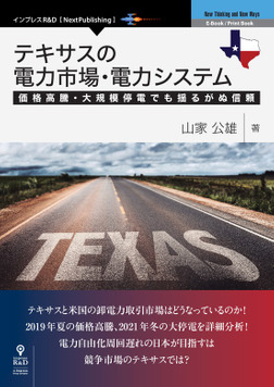 テキサスの電力市場・電力システム 価格高騰・大規模停電でも揺るがぬ信頼-電子書籍