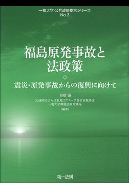 福島原発事故と法政策-震災・原発事故からの復興に向けて-電子書籍
