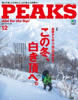 PEAKS 2016年12月号 No.85-電子書籍