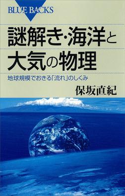 謎解き・海洋と大気の物理 地球規模でおきる「流れ」のしくみ-電子書籍