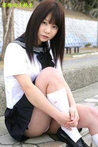 妄想女子校生『こすりすぎ♪』29