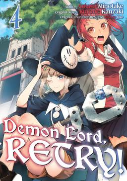 Demon Lord, Retry! Volume 4