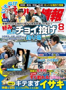 磯・投げ情報 2017年 08月号-電子書籍