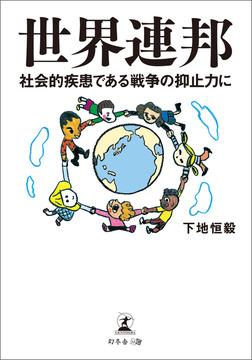 世界連邦 社会的疾患である戦争の抑止力に-電子書籍