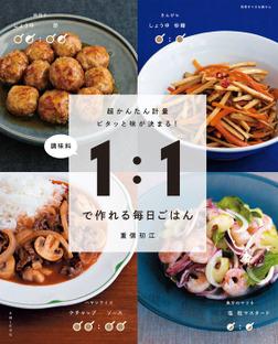 調味料1:1で作れる毎日ごはん-電子書籍