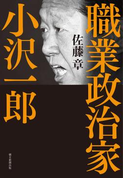 職業政治家 小沢一郎-電子書籍