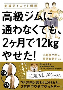 高級ジムに通わなくても、2ヶ月で12kgやせた!-電子書籍