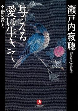 与える愛に生きて 名僧の教え(小学館文庫)-電子書籍
