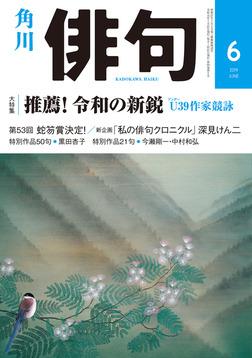 俳句 2019年6月号-電子書籍