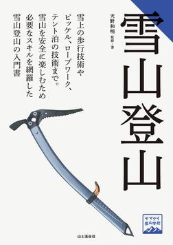 ヤマケイ登山学校 雪山登山-電子書籍