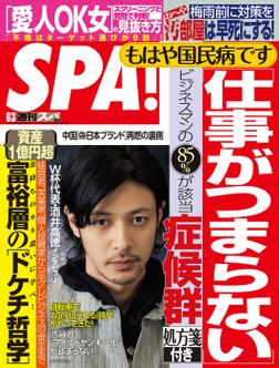 週刊SPA! 2014/6/3号-電子書籍