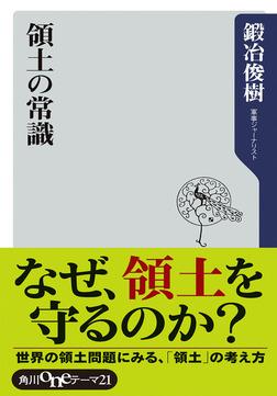 領土の常識-電子書籍