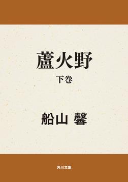 蘆火野 下巻-電子書籍