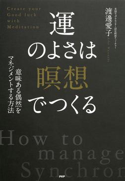 意味ある偶然をマネジメントする方法 運のよさは「瞑想」でつくる-電子書籍