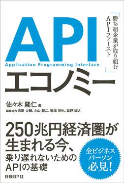 APIエコノミー 勝ち組企業が取り組むAPIファースト-電子書籍