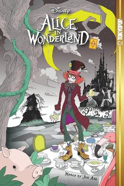 Disney Manga: Alice in Wonderland Volume 2