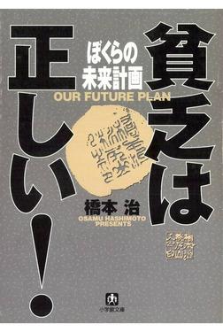 貧乏は正しい! ぼくらの未来計画(小学館文庫)-電子書籍
