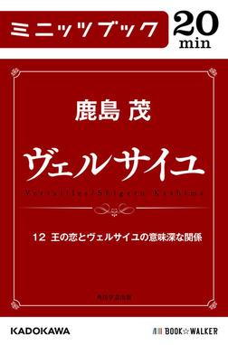 ヴェルサイユ 12 王の恋とヴェルサイユの意味深な関係-電子書籍