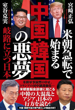米朝急転で始まる 中国・韓国の悪夢 岐路に立つ日本-電子書籍