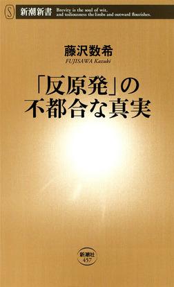 「反原発」の不都合な真実-電子書籍