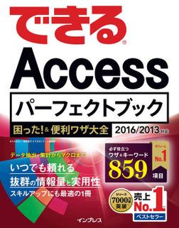 できるAccessパーフェクトブック 困った!&便利ワザ大全 2016/2013対応-電子書籍