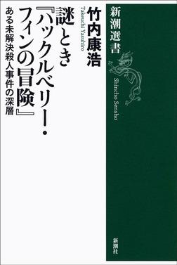 謎とき『ハックルベリー・フィンの冒険』―ある未解決殺人事件の深層―-電子書籍