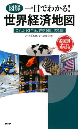[図解]一目でわかる! 世界経済地図 これから3年後、伸びる国、沈む国-電子書籍