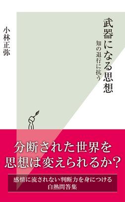 武器になる思想~知の退行に抗う~-電子書籍