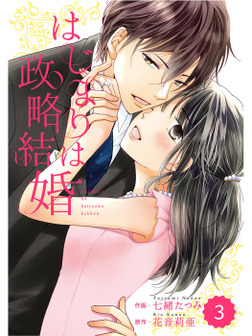 comic Berry's はじまりは政略結婚 3巻-電子書籍