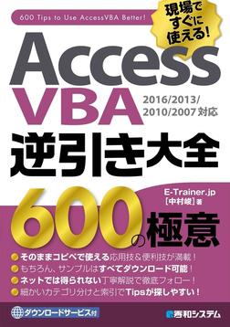 AccessVBA逆引き大全 600の極意 2016/2013/2010/2007対応-電子書籍
