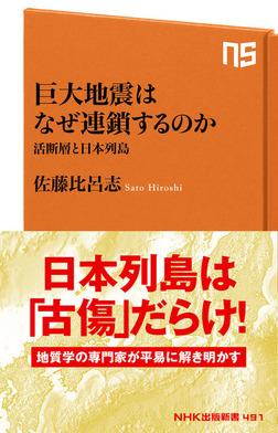 巨大地震はなぜ連鎖するのか 活断層と日本列島-電子書籍