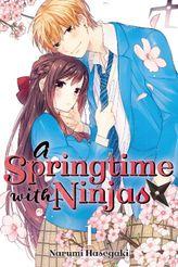 [Complete Bundle Set 20% OFF] A Springtime with Ninjas Vol. 1-4