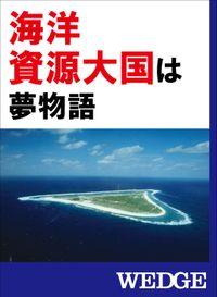 「海洋資源大国」は夢物語