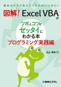 図解! Excel VBAのツボとコツがゼッタイにわかる本 プログラミング実践編-電子書籍