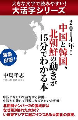 【大活字シリーズ】2014年! 中国と韓国、北朝鮮の動きが15分でわかる本-電子書籍