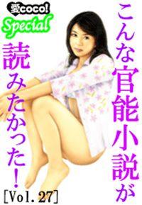 こんな官能小説が読みたかった!vol.27