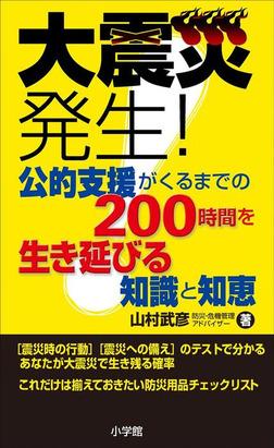 大震災発生!公的支援がくるまでの200時間を生き延びる知識と知恵-電子書籍